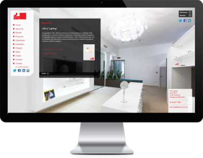 JSB Lighting website