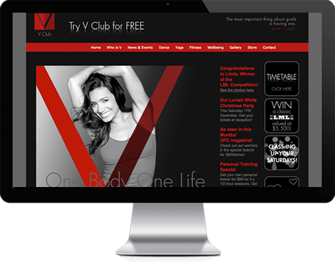 vclub_website_design_development_inzen